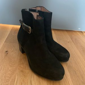 Dansko Leather Ankle Boots